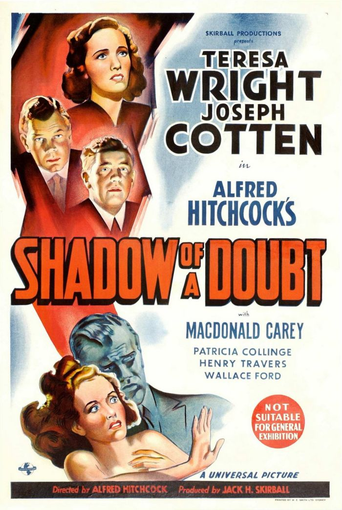 Shadow of a Doubt - Poster